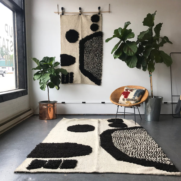 Motherwell Handmade Wool Rug by Meso Goods