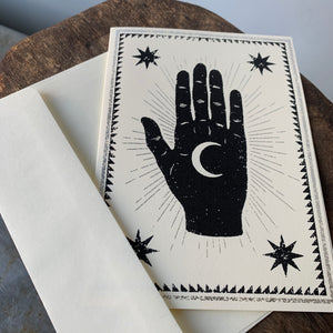 Moon Palm Card by The Rise and Fall