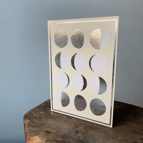 Moon Phases Card by The Rise and Fall