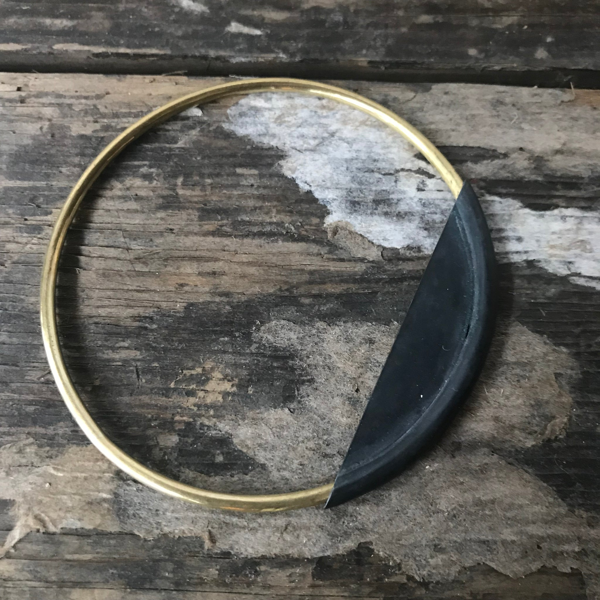 Earth and Sky Bangle Bracelet by Mulxiply - Upstate MN