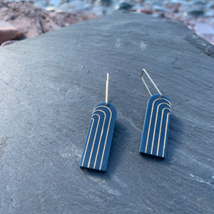 Narrow Iona Earrings by Bird of Virtue