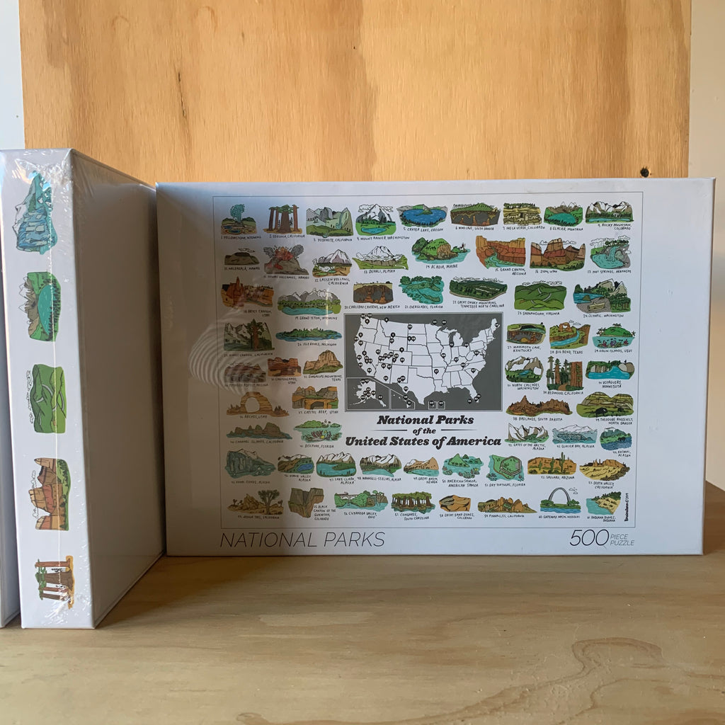 National Parks Puzzle by We Are Brainstorm