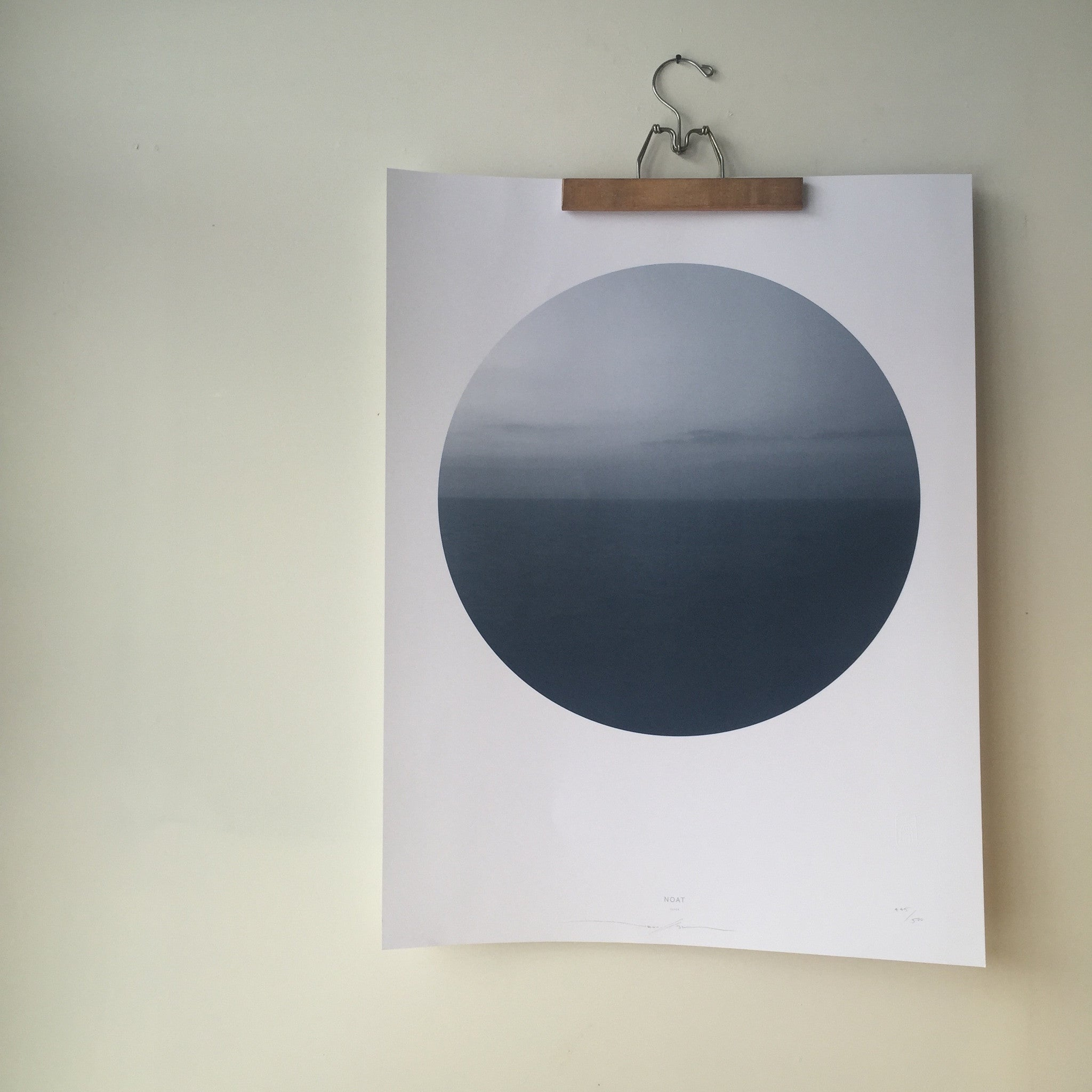 Horizon 1 Print by Noat Paper
