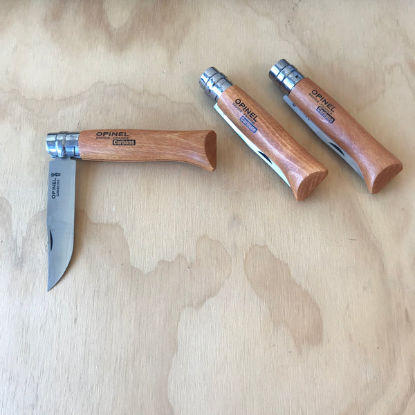 Opinel No. 8 Trekking Knife Natural - Upstate MN