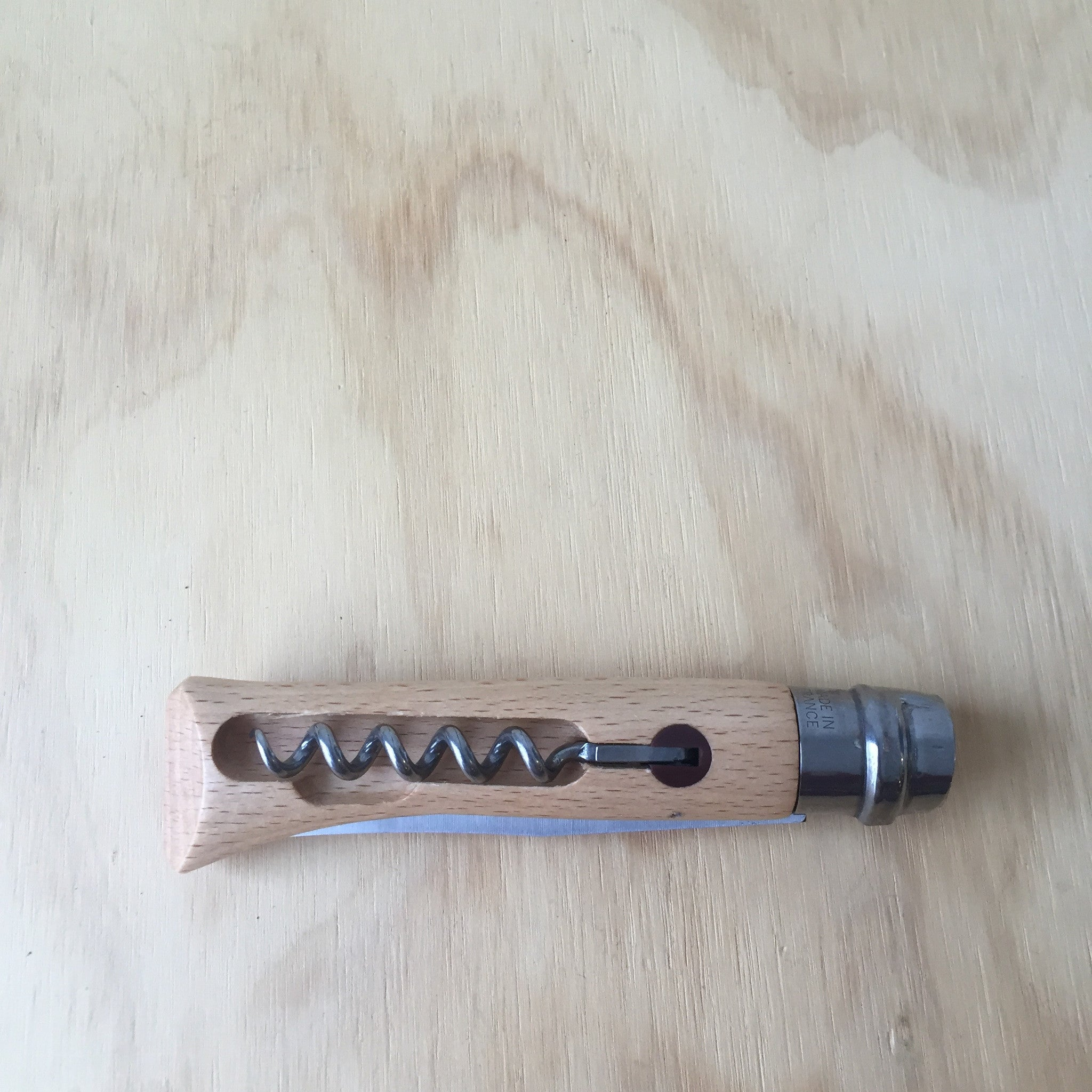 Opinel No. 10 Knife and Corkscrew