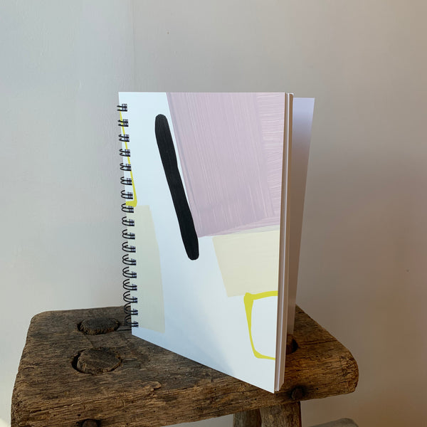 Painted Notebook 'Purple Rain' By Mōglea