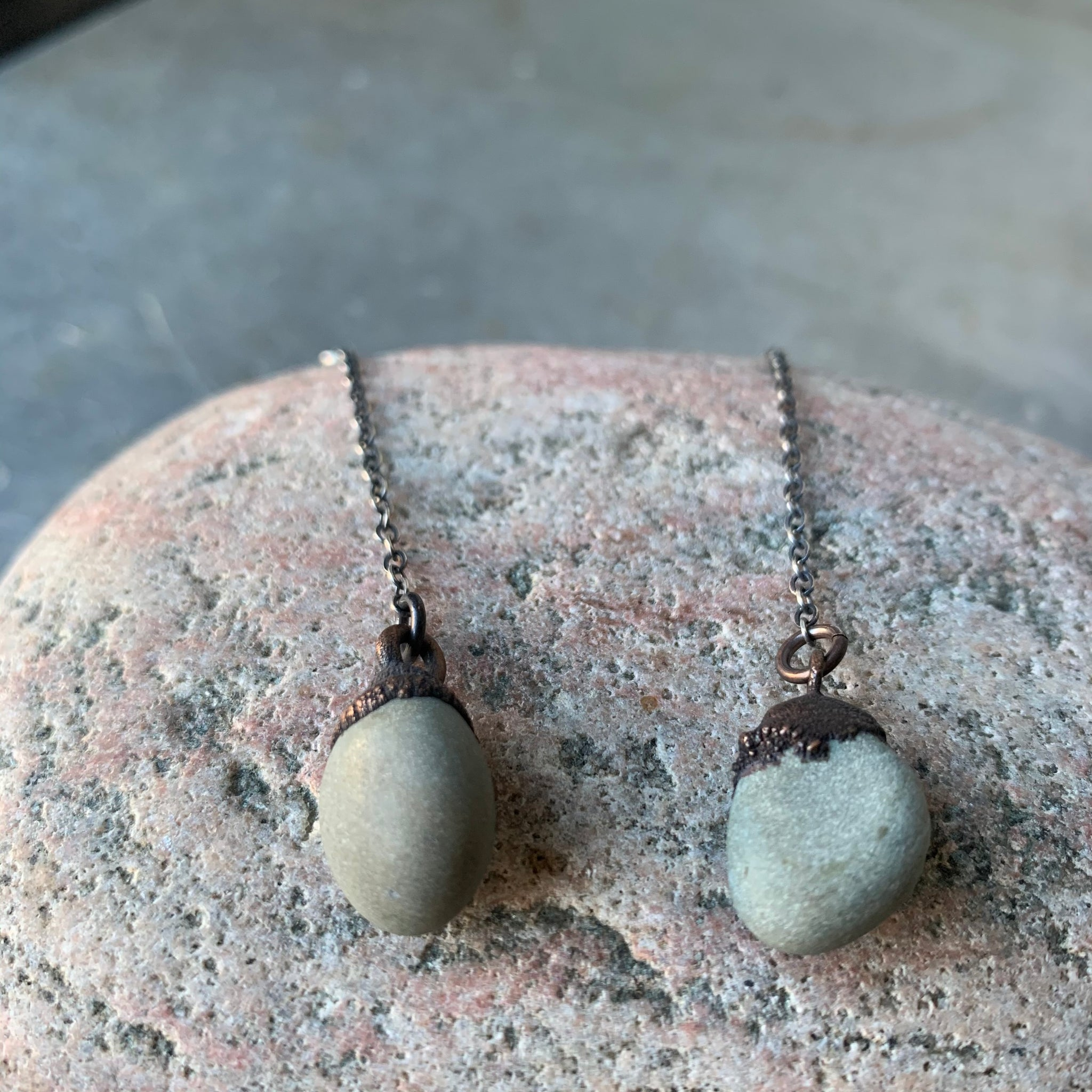 Pebble Drop Earrings by Hawkhouse