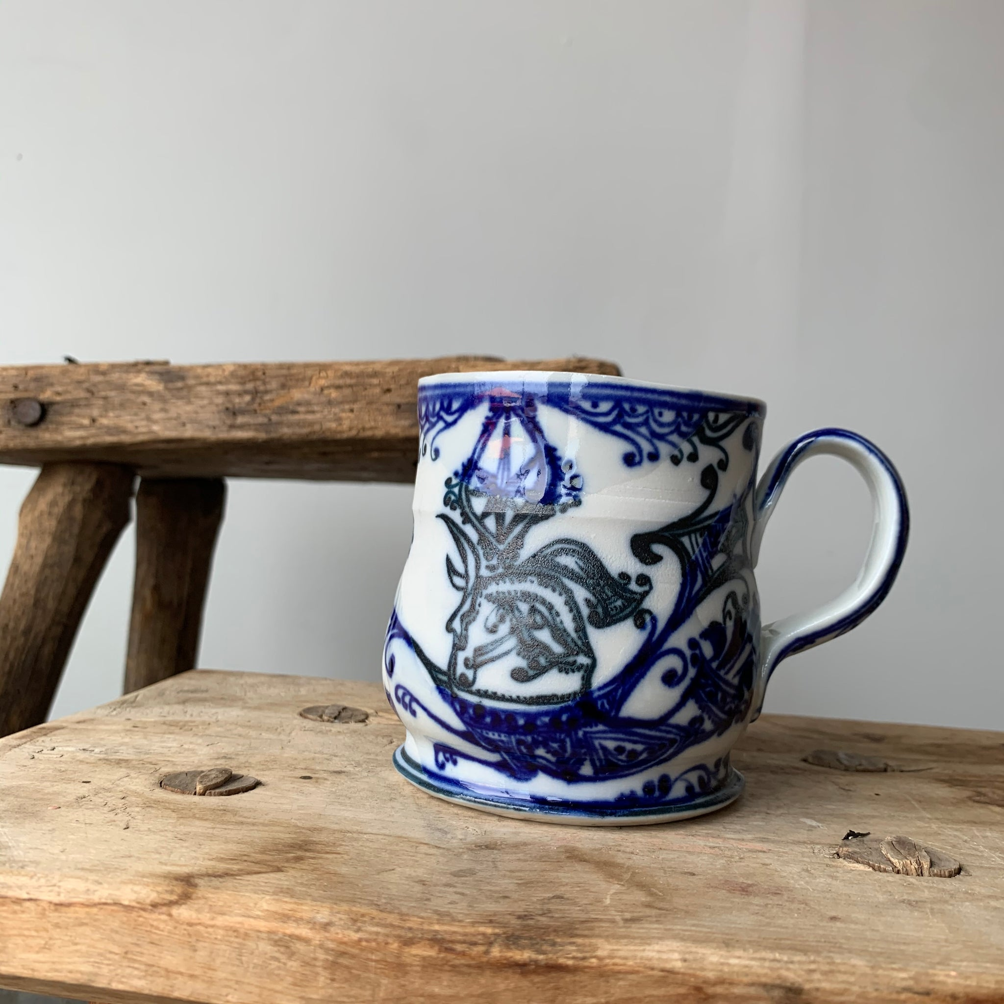 Porcelain Animal Mug 9 by David Swenson