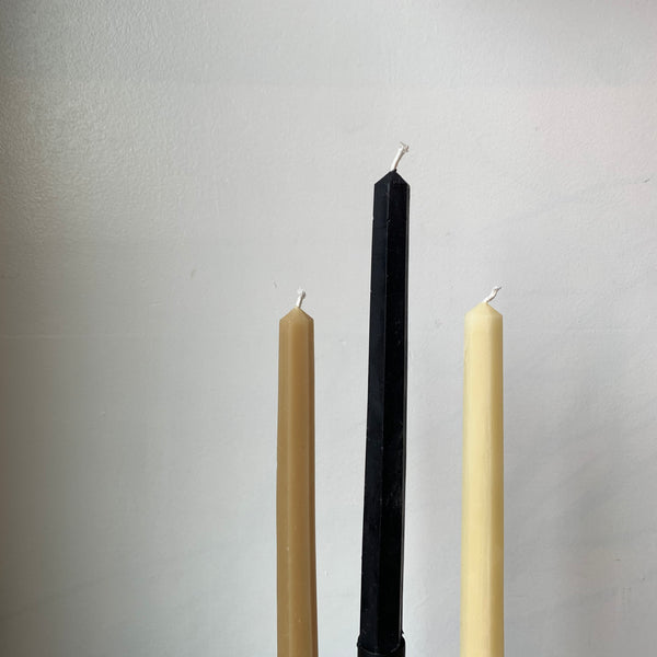 Pure Beeswax Taper Candles by Tatine