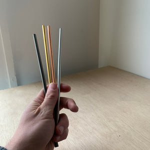 Reusable Stainless Steel Straws - Upstate MN