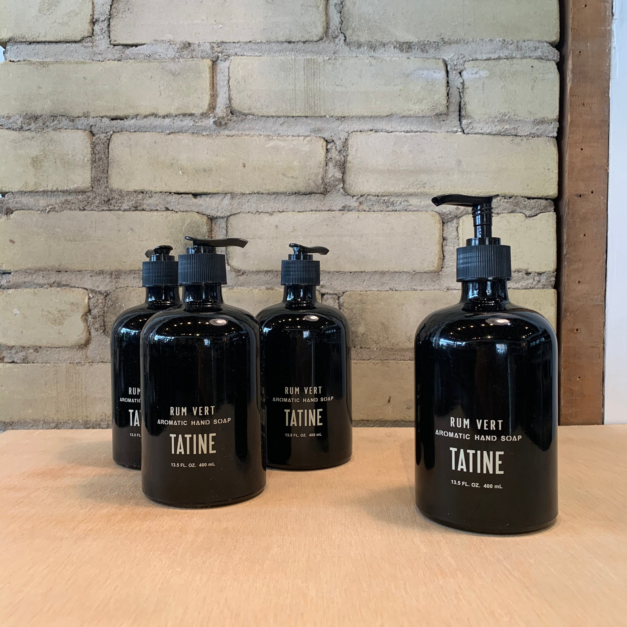 Rum Vert Soap and Lotion by Tatine