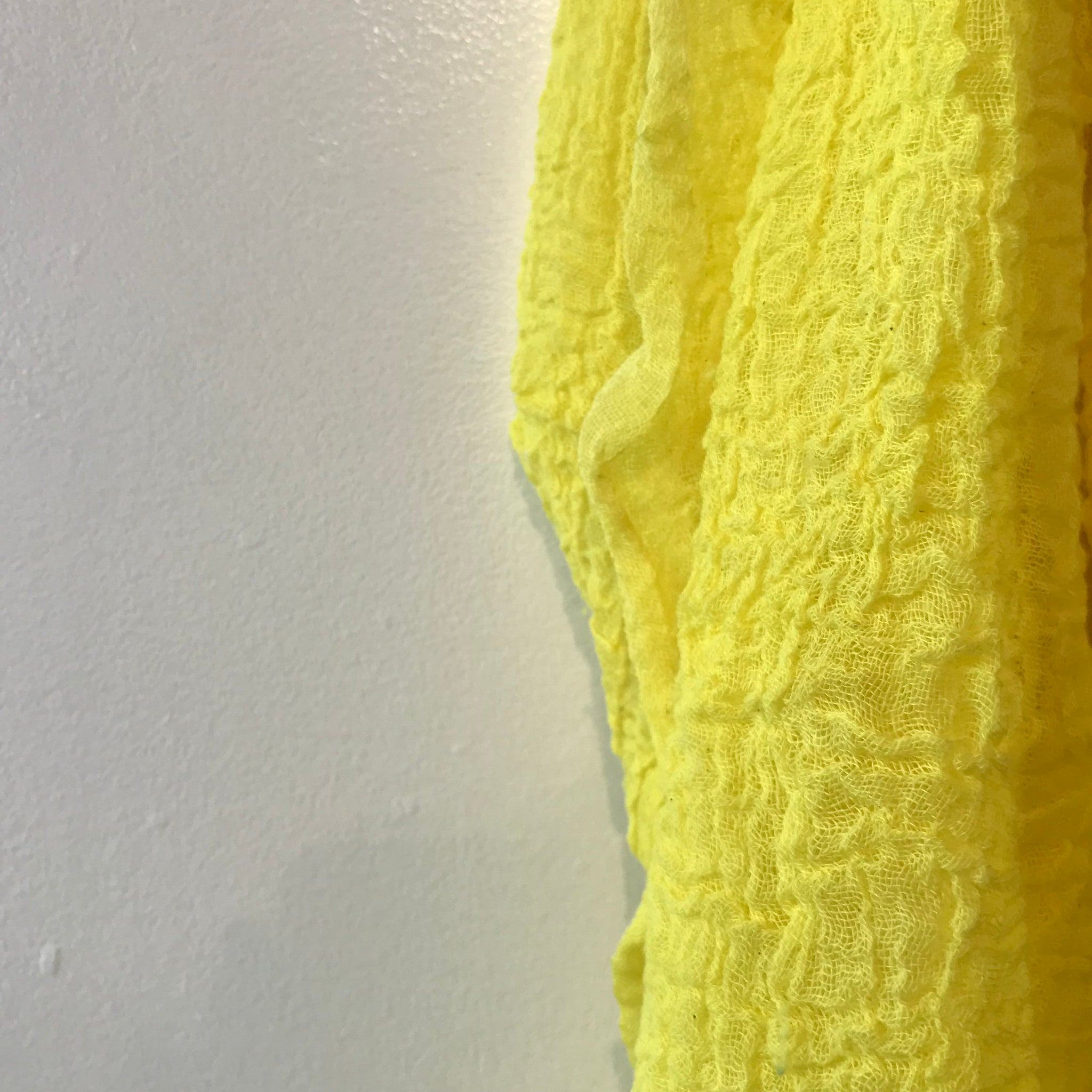 Cotton Scarf in Highlighter by Scarfshop - Upstate MN