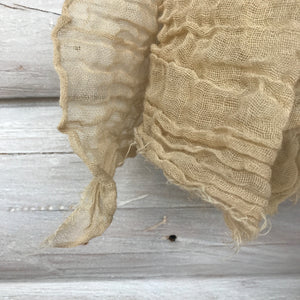 Cotton Scarf in Tea by Scarfshop - Upstate MN
