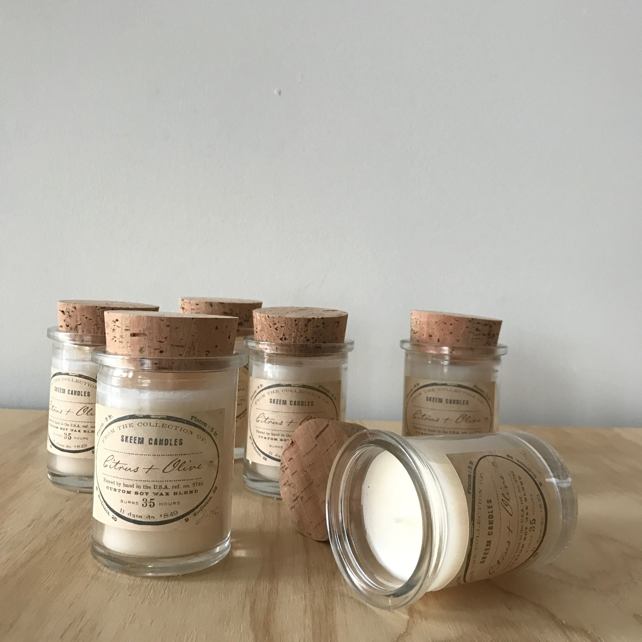 Citrus & Olive Field Jar Candle by Skeem Design - Upstate MN