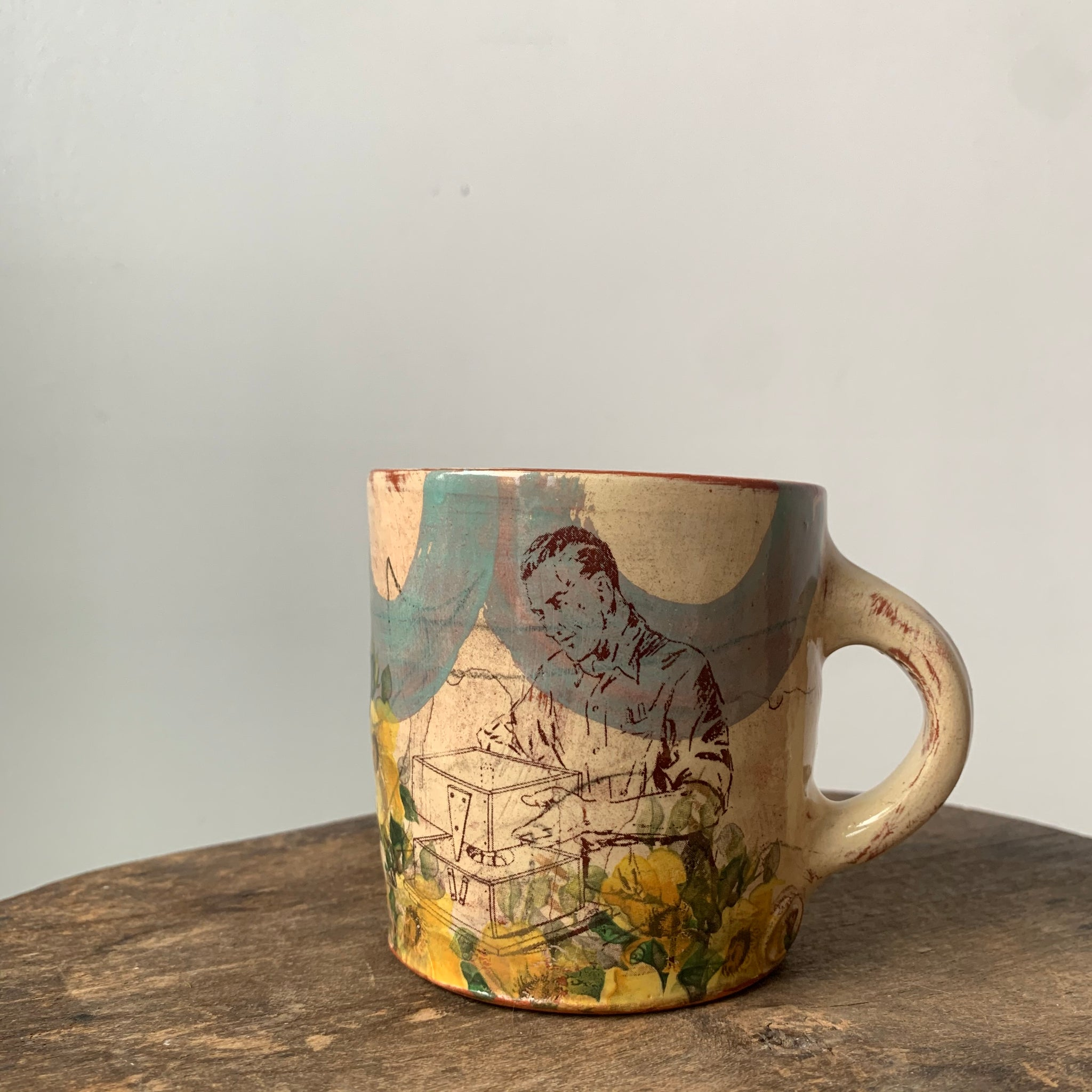 Small Mug 3 by Eric Pardue