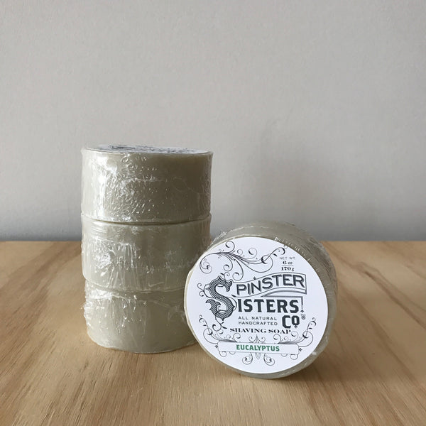Spinster Sisters Eucalyptus Shaving Soap