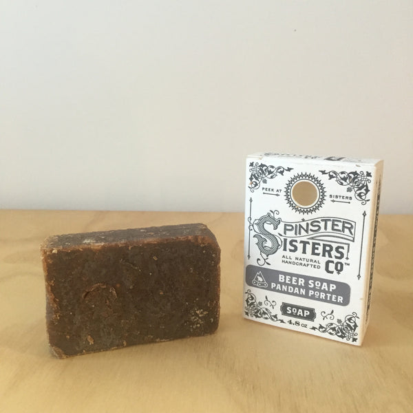 Spinster Sisters Beer Soap, Handmade Organic - Upstate MN
