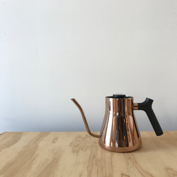 Stagg Copper Kettle with Thermometer by Fellow