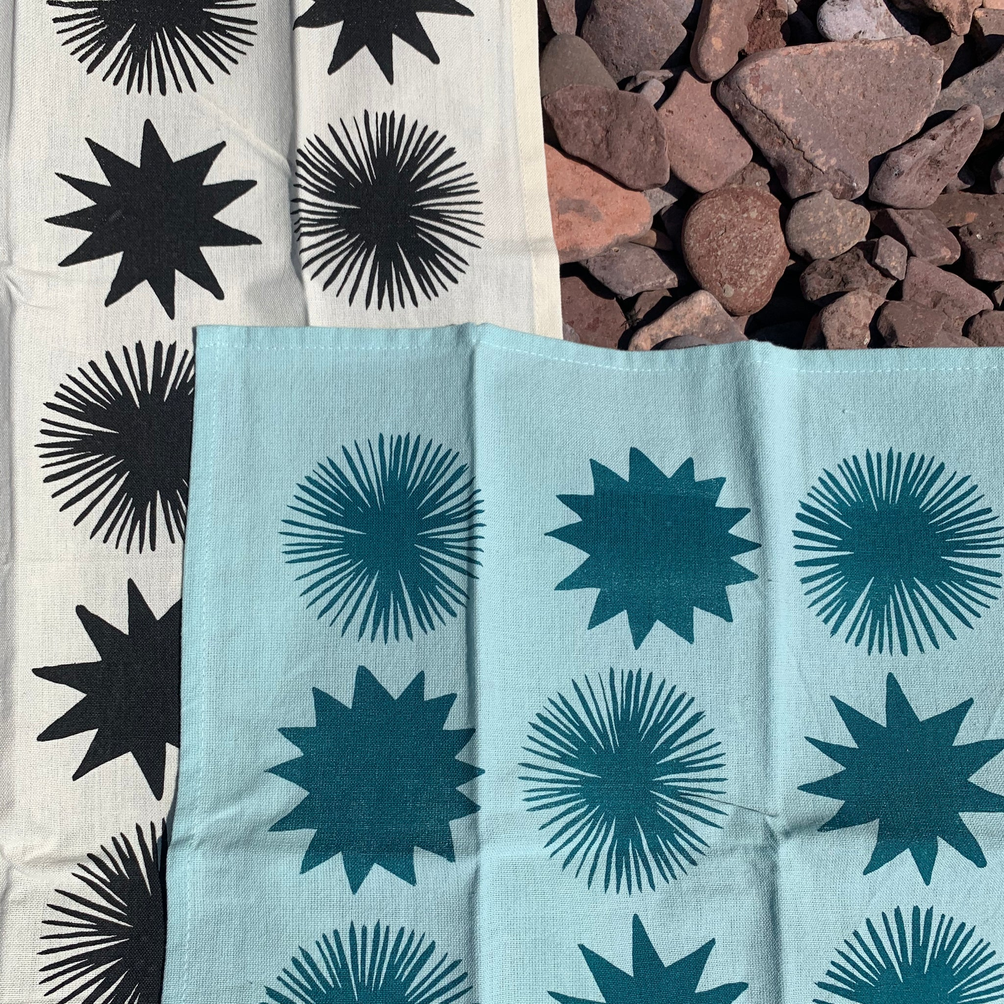 Starbursts Kitchen Towel by The Rise and Fall
