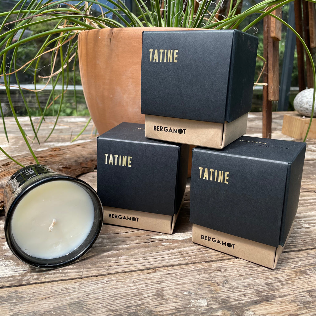 Stars are Fire BERGAMOT Hand-Poured Candle by Tatine