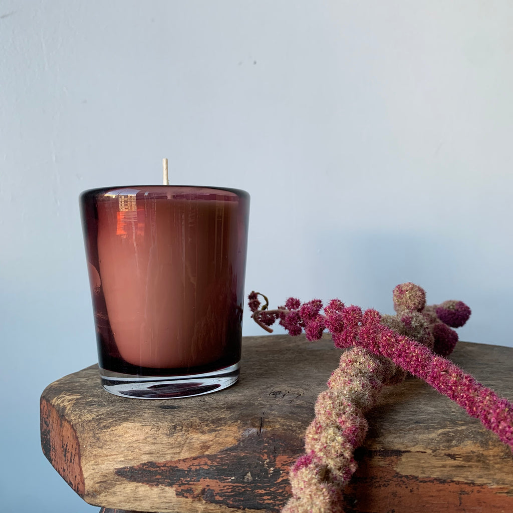 Stars are Fire PEACE ROSE Hand-Poured Candle by Tatine