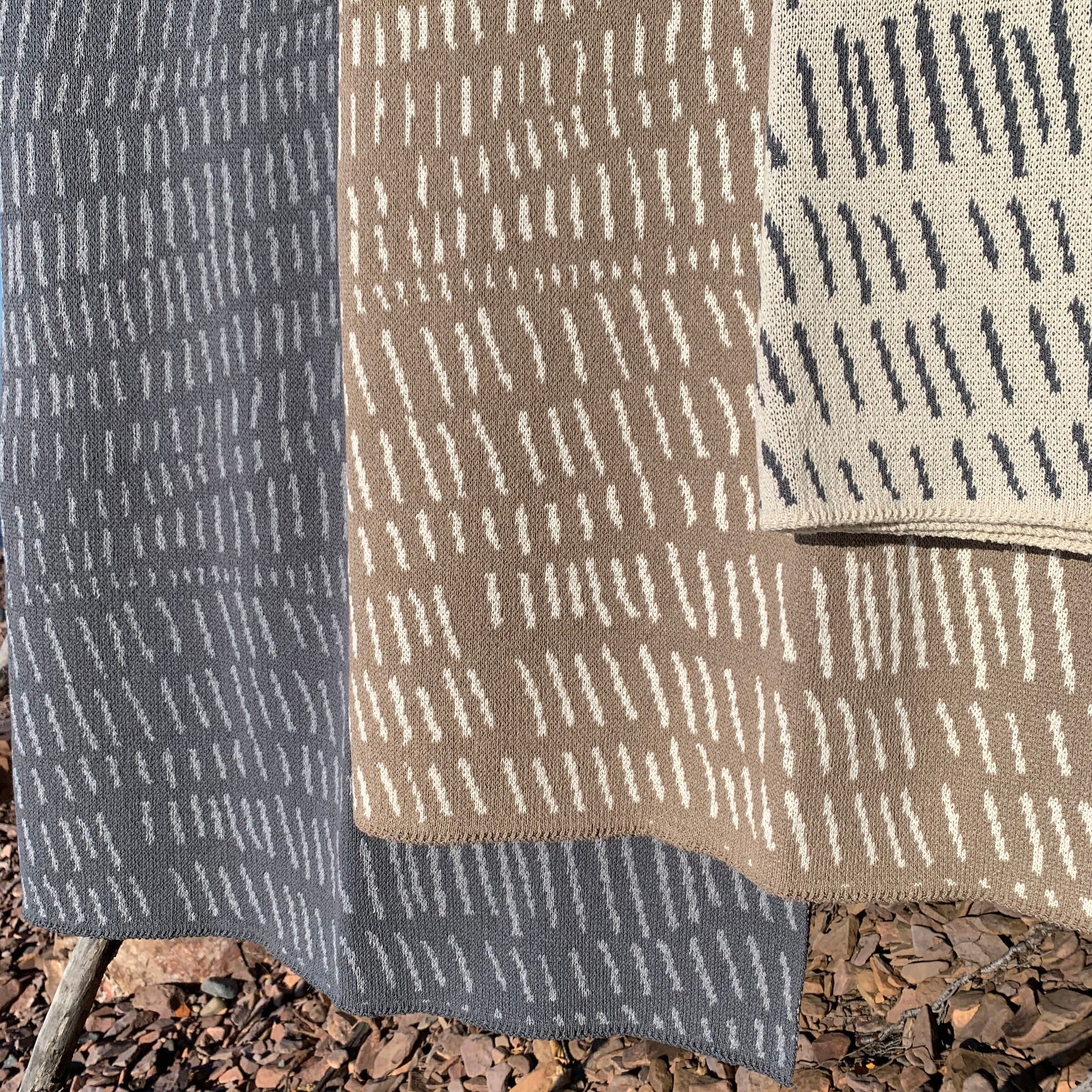 Terrains Eco Throw by Jill Malek for In2Green