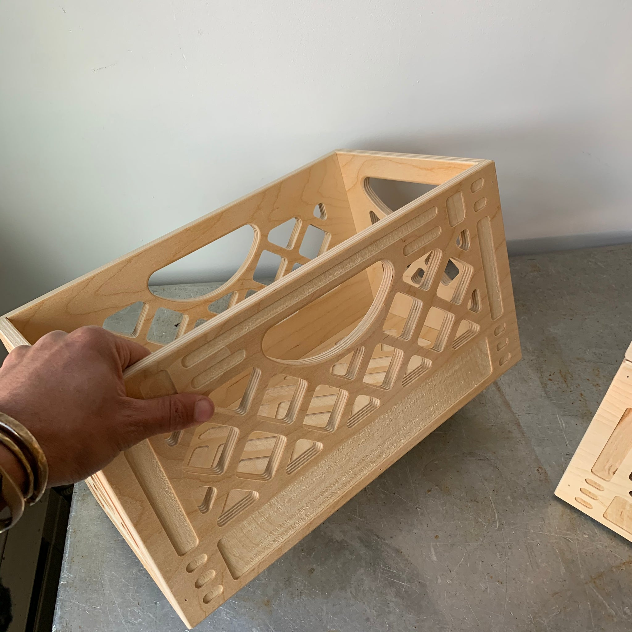 The Collector Browser Wooden Crate by WAAM Industries