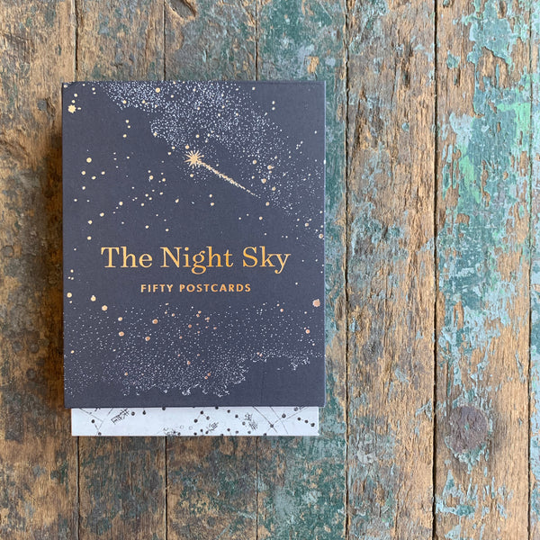 The Night Sky - Fifty Postcards