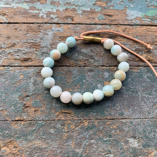 Unisex Shirin Bracelet with Amazonite by Son of a Sailor - Upstate MN