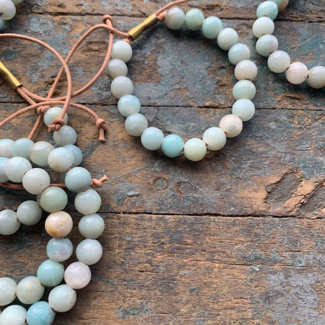Unisex Shirin Bracelet with Amazonite by Son of a Sailor