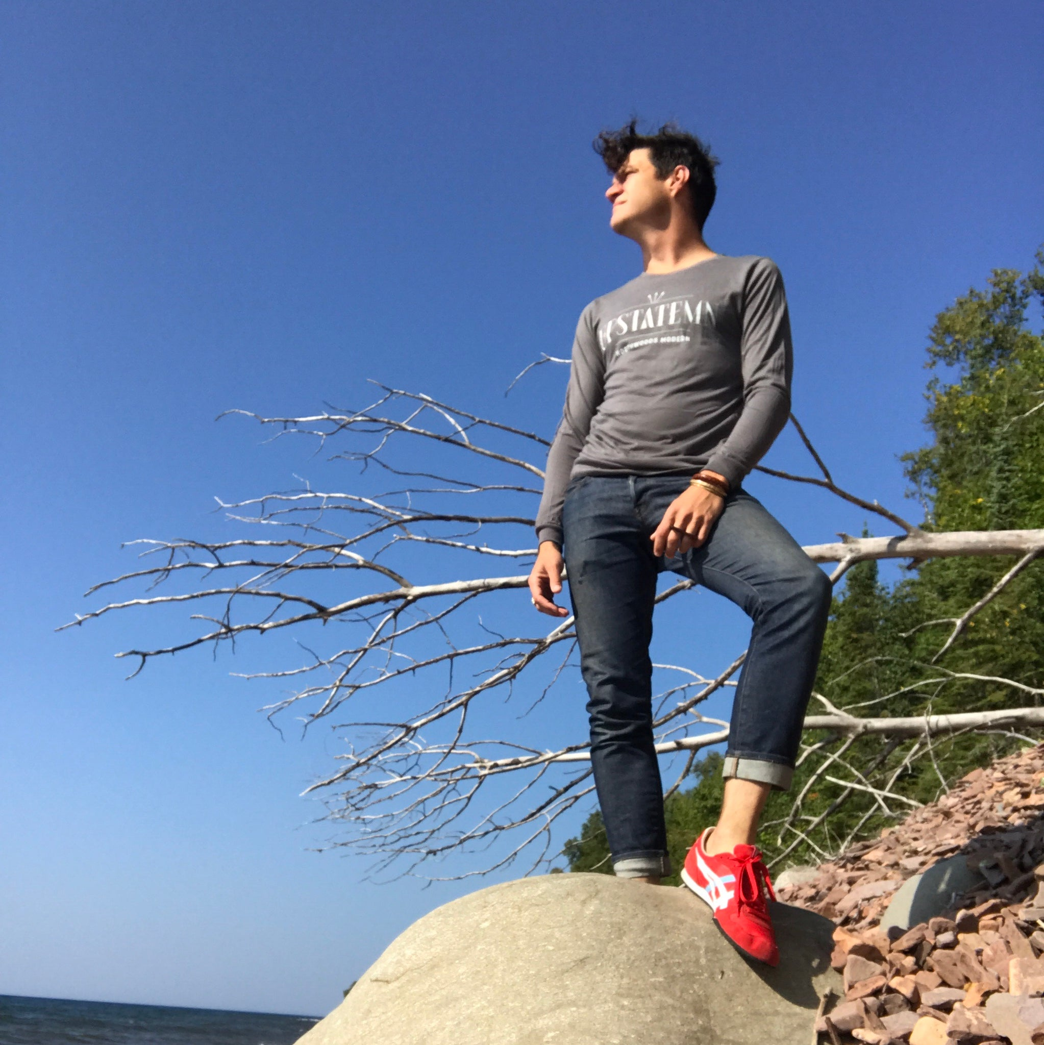 UPSTATE MN Long Sleeve T-shirt - Upstate MN