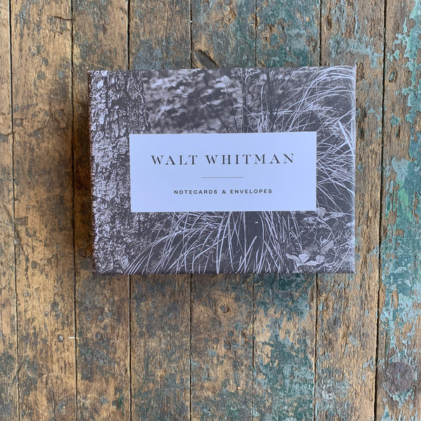 Walt Whitman Notecards - Upstate MN
