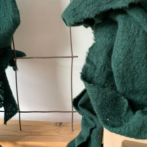 Wool Cloud Scarf in Forest by Scarfshop