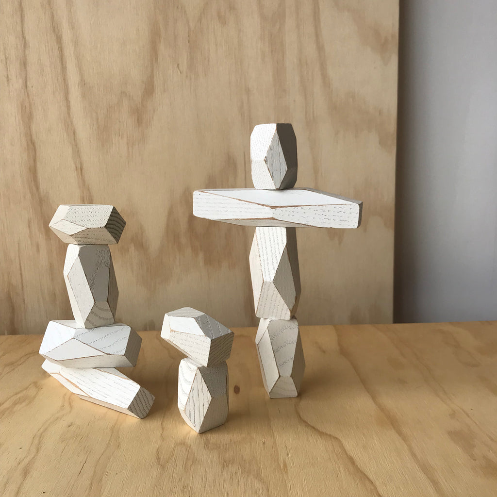 White Balancing Blocks by Fort Standard for Areaware - Upstate MN