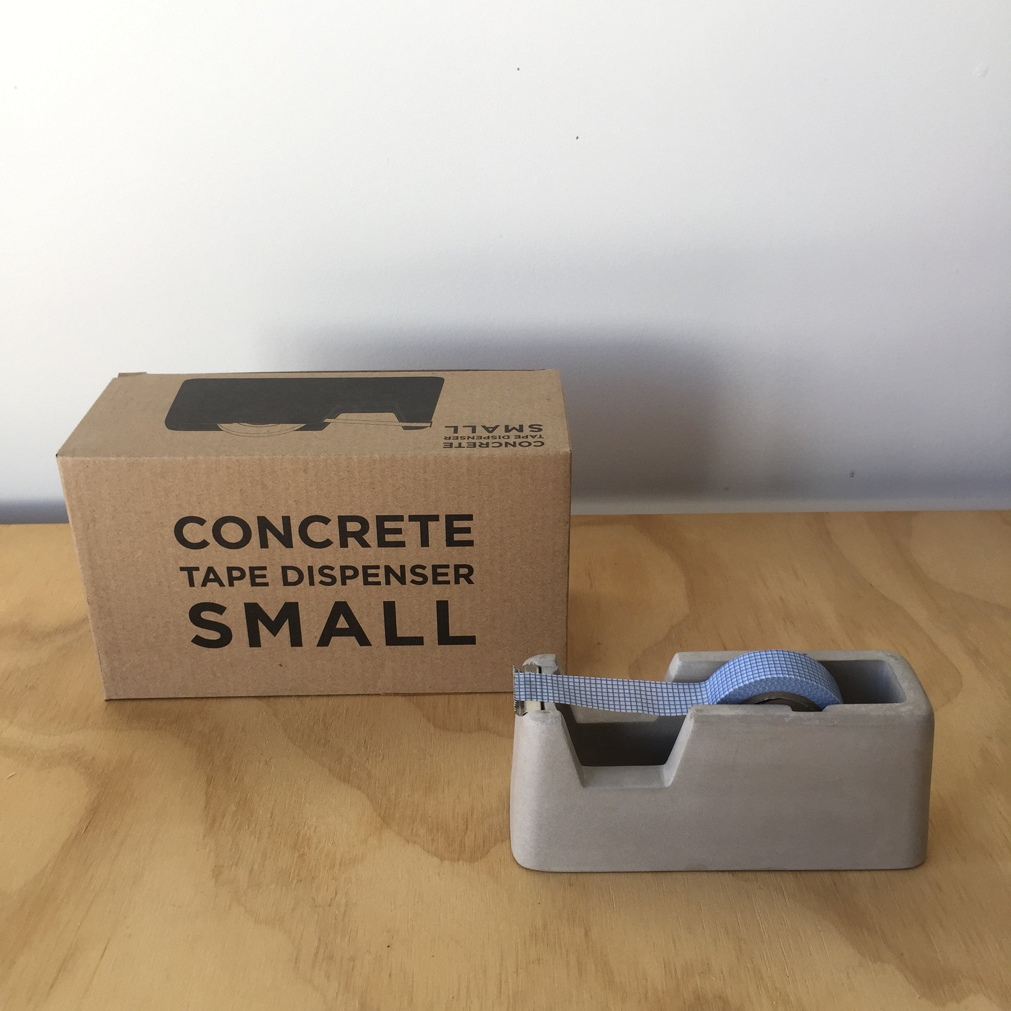 Concrete Tape Dispenser by Magnus Pettersen for Areaware