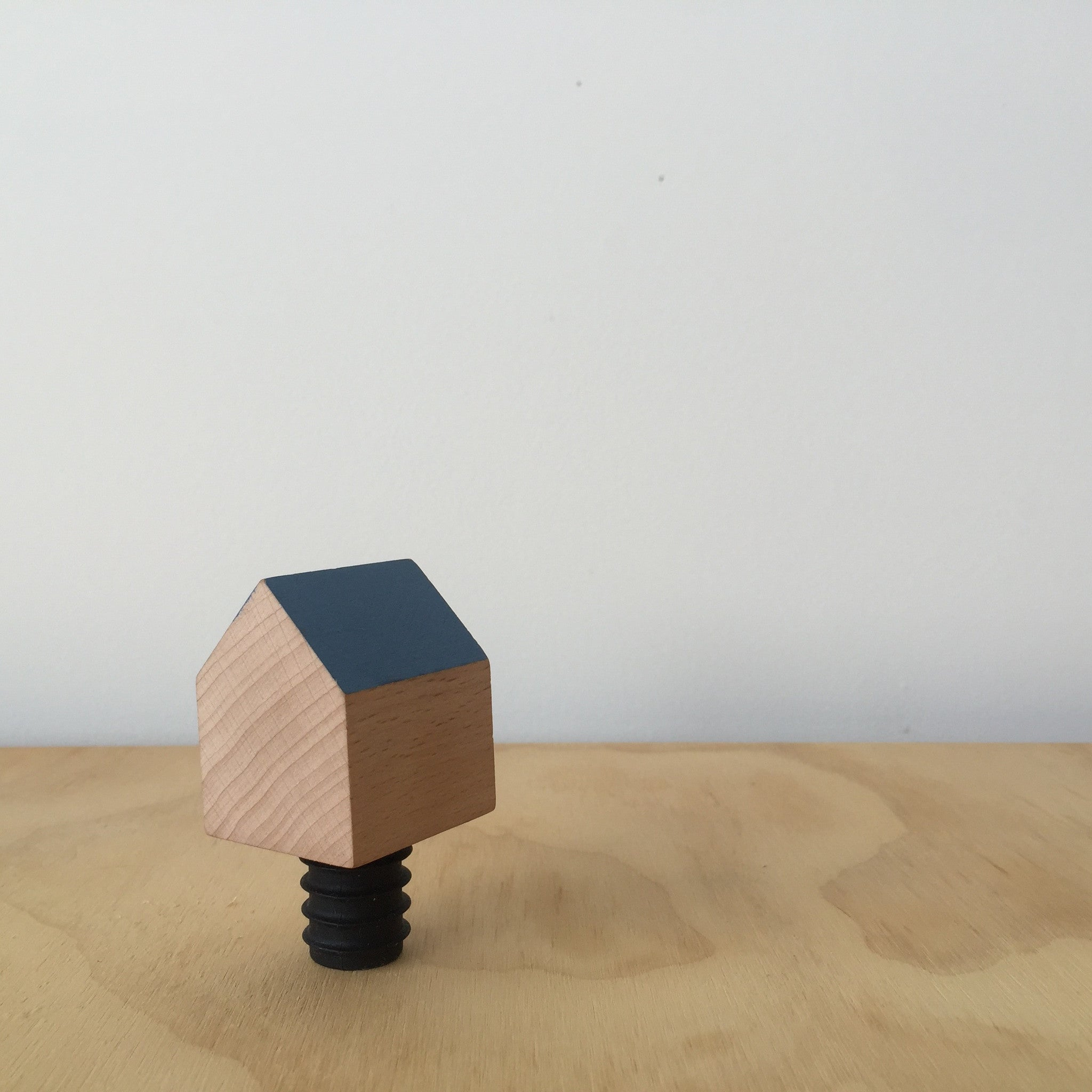 Blue Bottle House Wine Stopper by Daphna Laurens for Areaware - Upstate MN