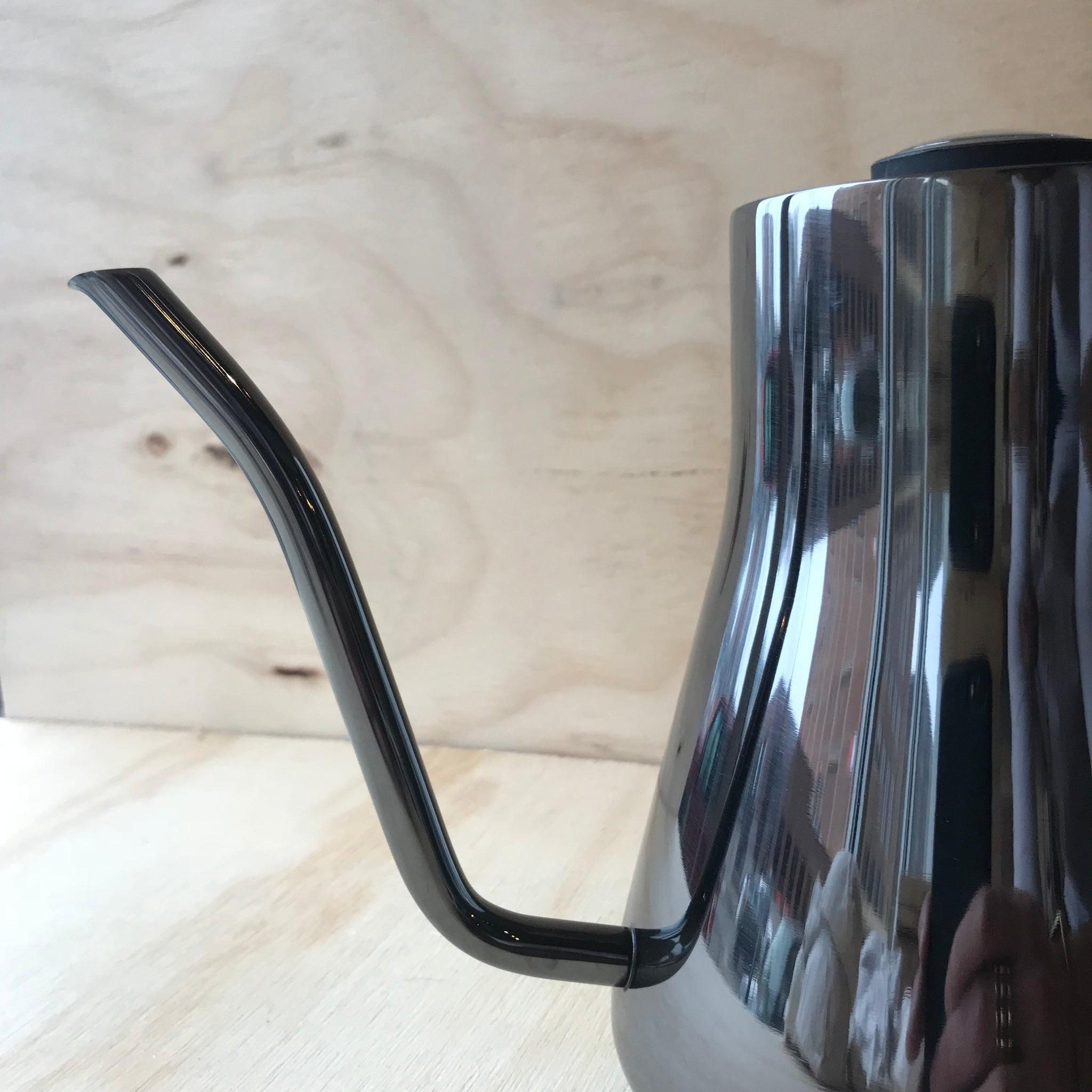 Limited Edition Stagg Graphite Kettle with Thermometer by Fellow