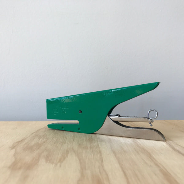 Kelly Green Klizia Stapler
