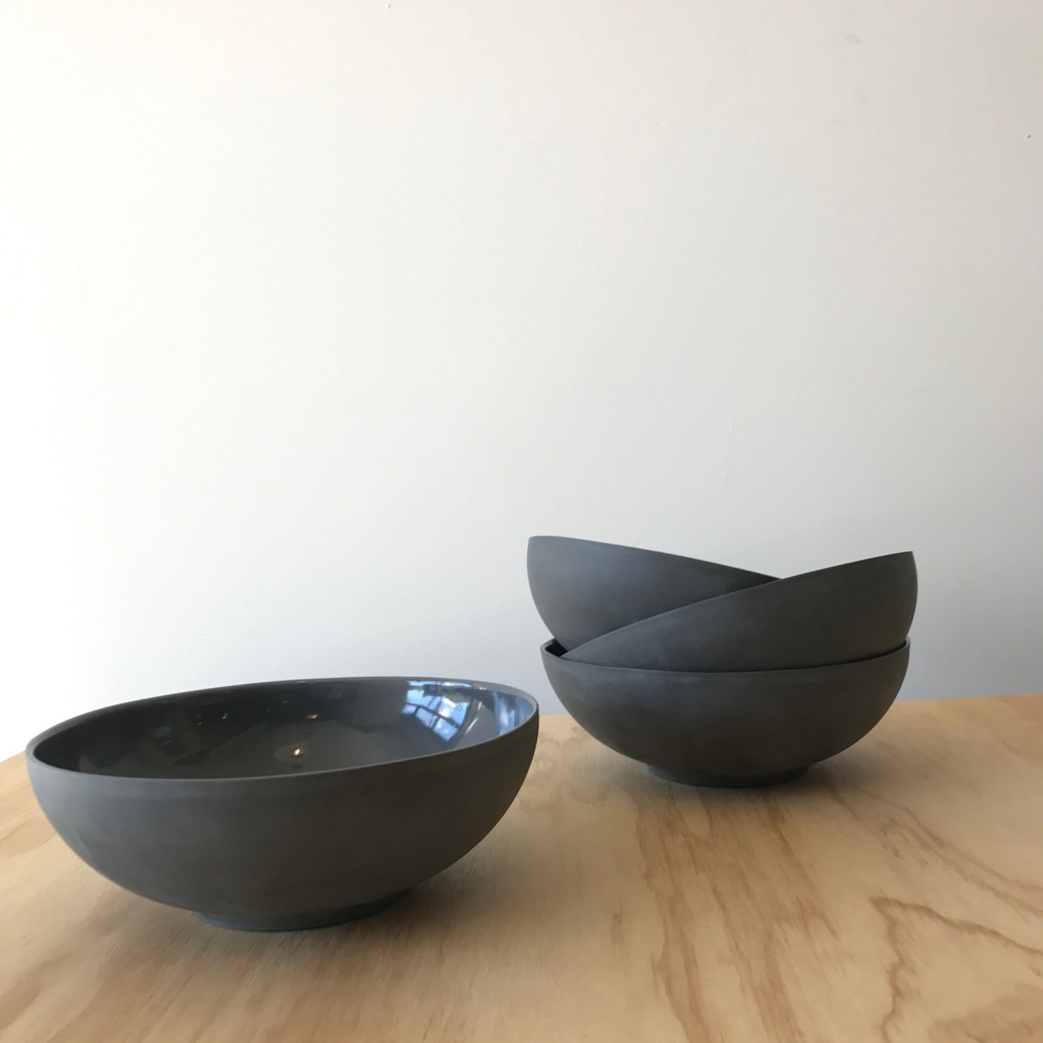 'Marcy' Bowl in Black by Edgewood Made