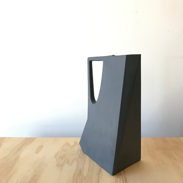 Porcelain Pitcher in Black by Edgewood Made