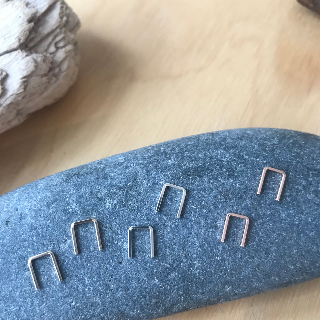 Staple Earrings by Koonyai Studio - Upstate MN
