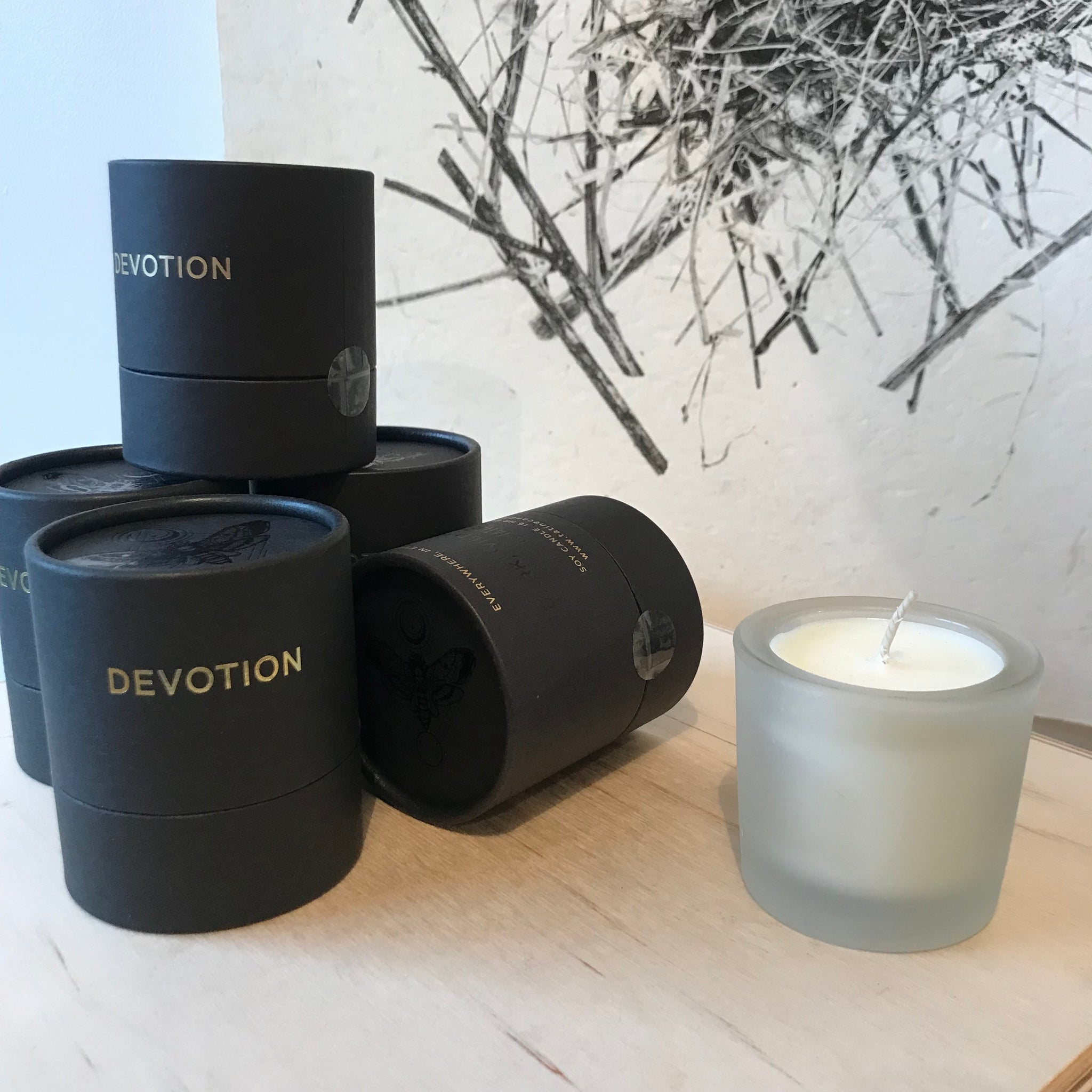 Devotion Hand-Poured Candle by Tatine - Upstate MN