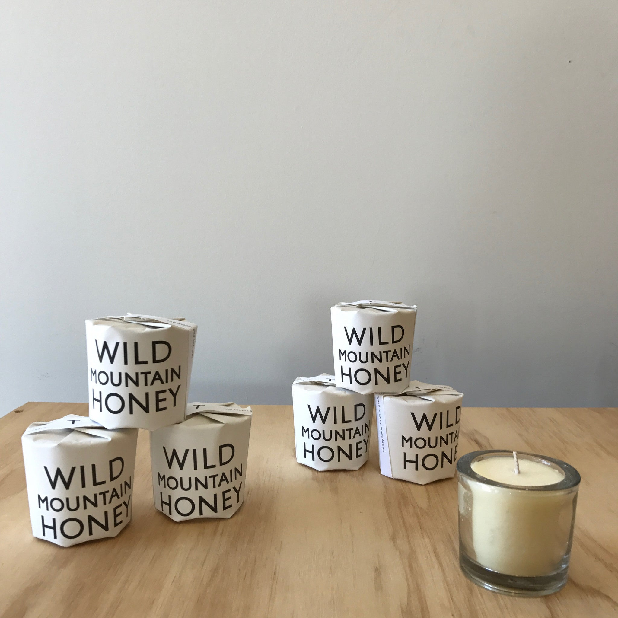 Wild Mountain Honey Hand-Crafted Candle by Tatine