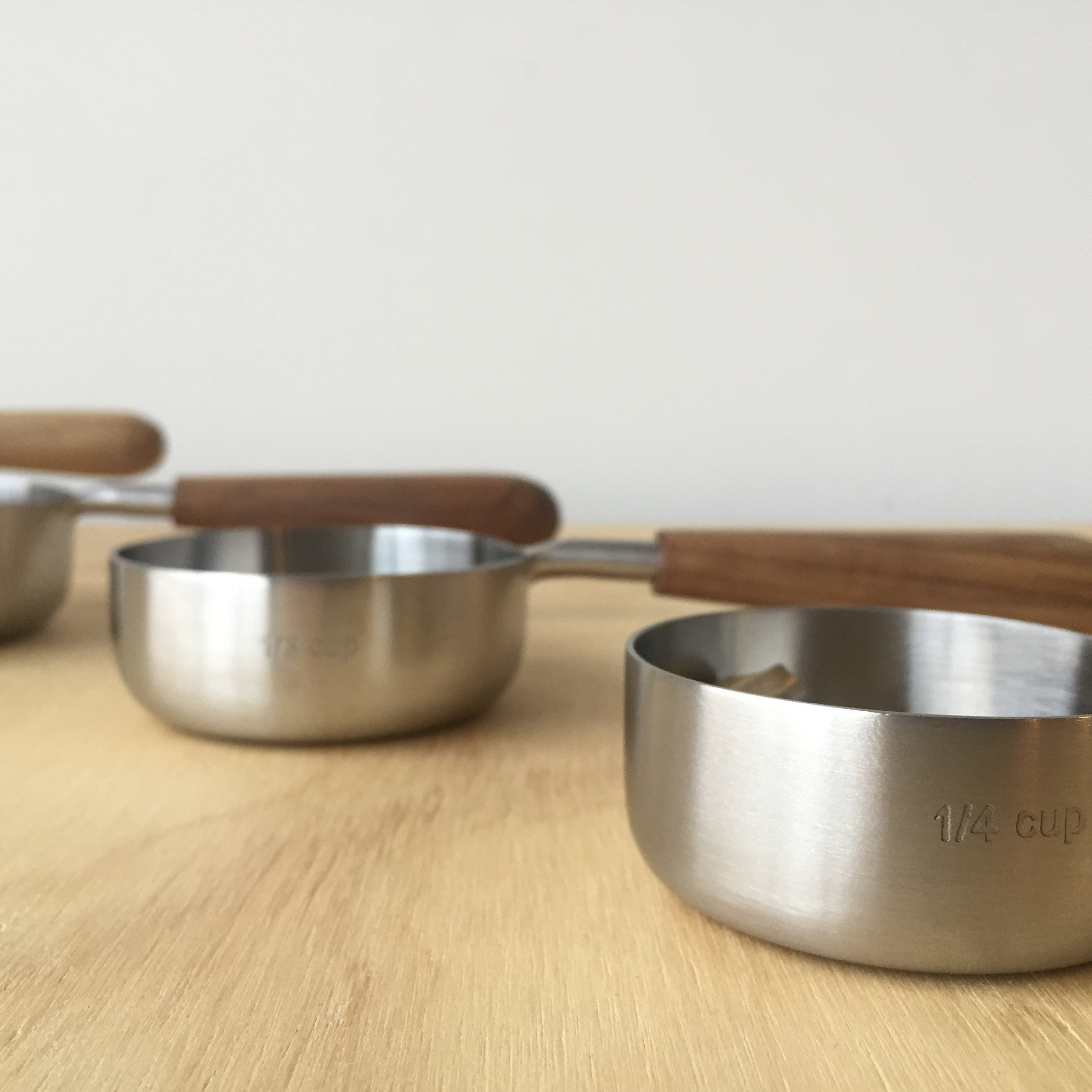 Measuring Cups Set in Stainless