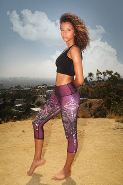 Yoga Leggings UFO Spaceship - What's Your Chic