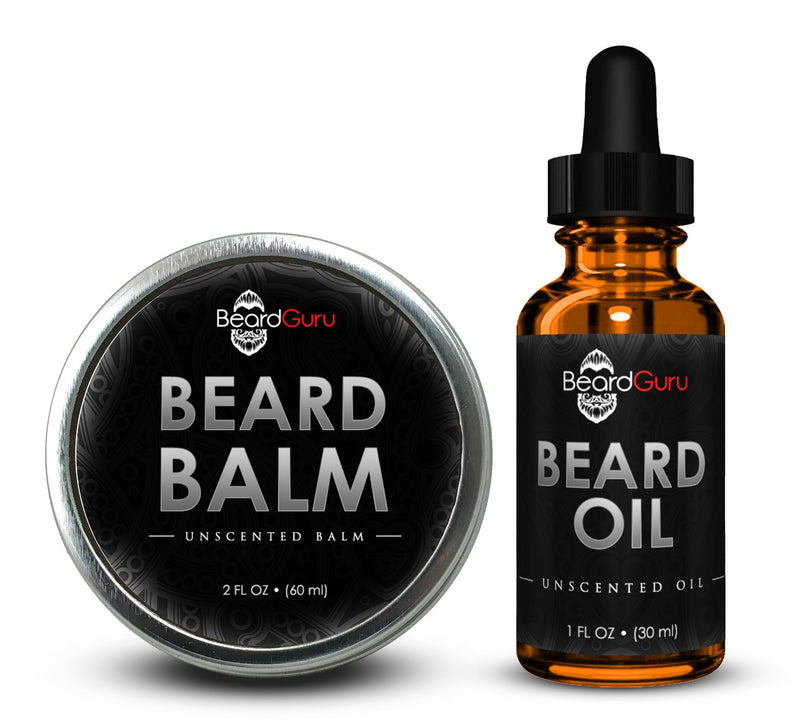BeardGuru Premium Beard Oil:  Unscented - What's Your Chic