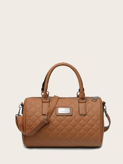 Quilted shoulder bag (zipper) - What's Your Chic