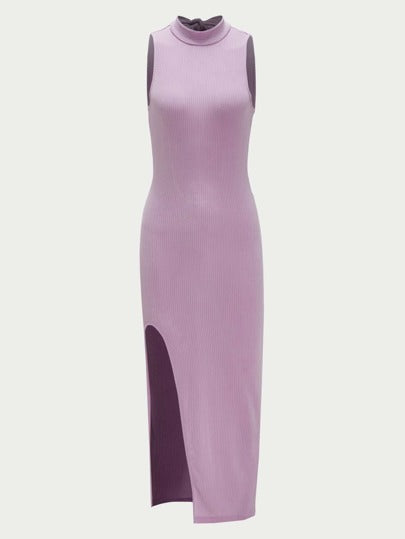 Mirrors split thigh dress - What's Your Chic