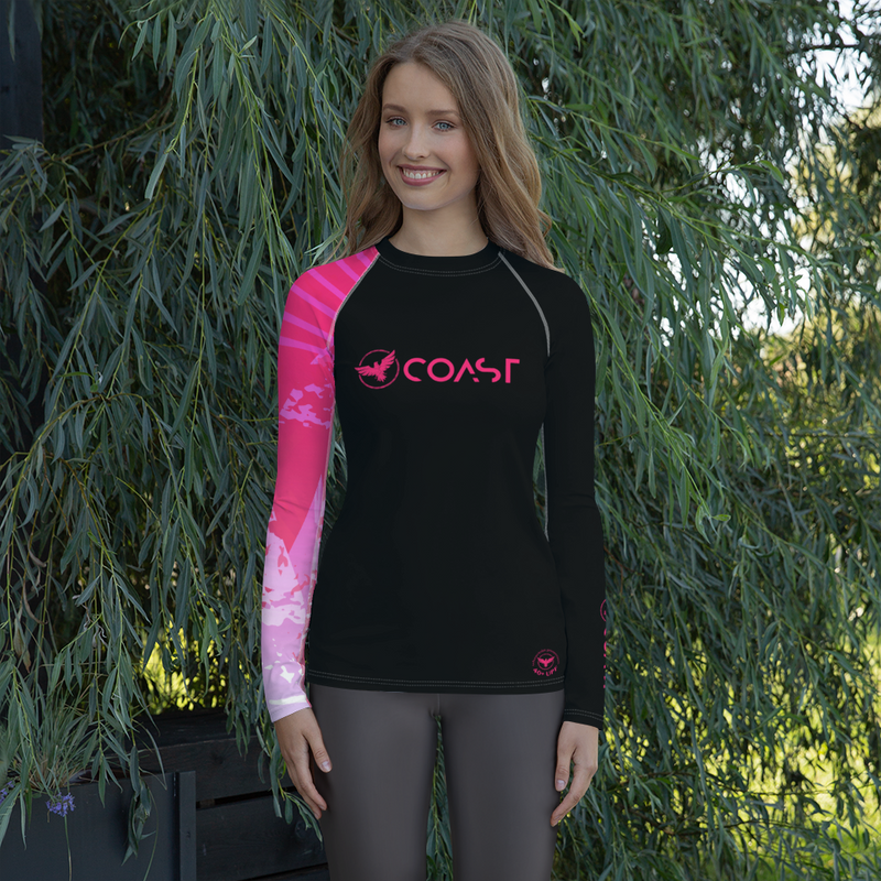 Women's Victory Sleeve Performance Rash Guard UPF 40+ - What's Your Chic