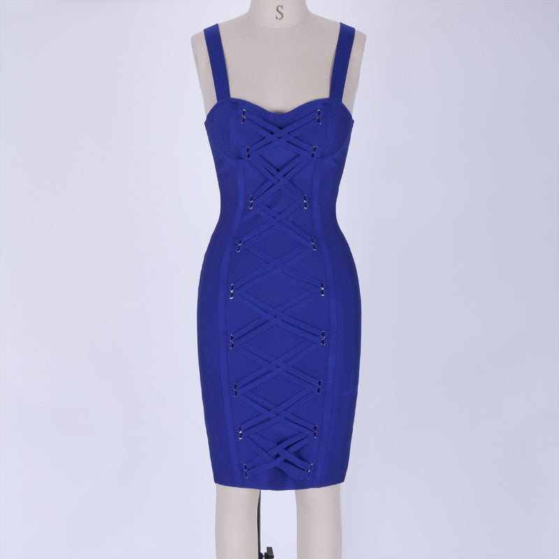 'X' bandage dress - What's Your Chic
